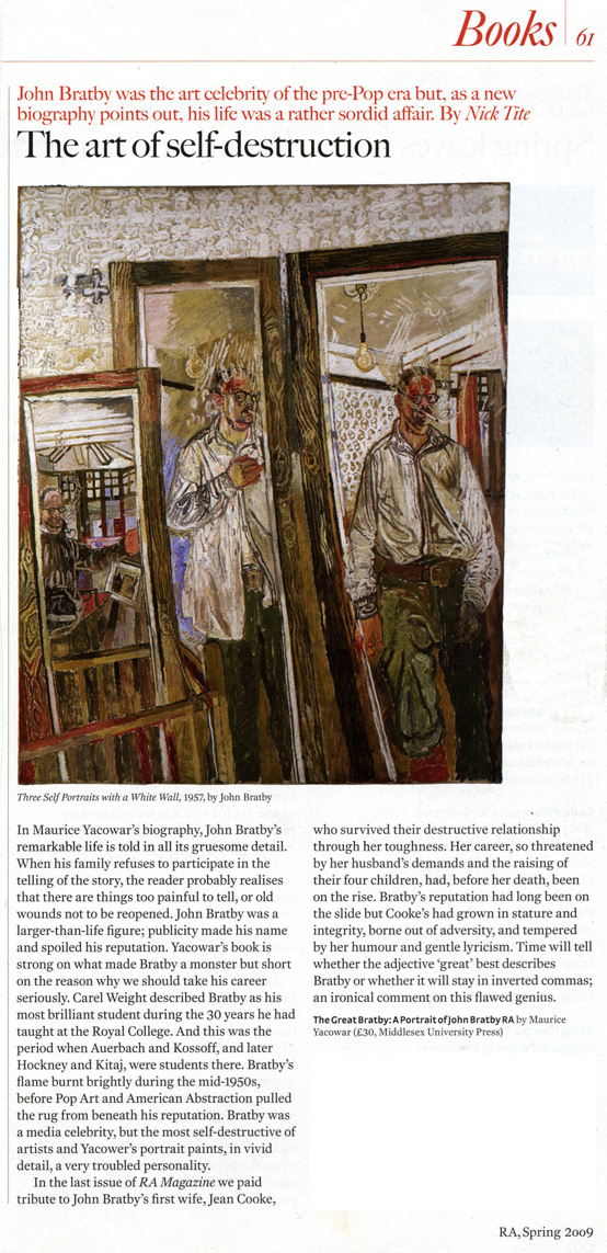 Royal Academy Bratby review