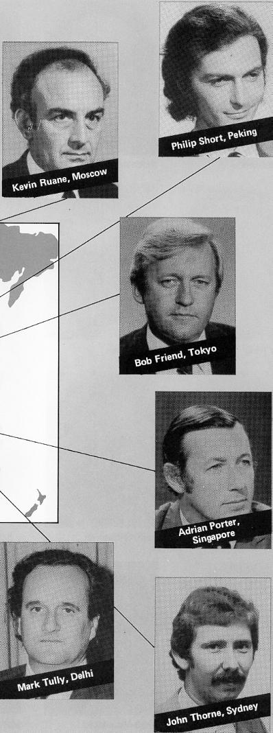 "From BBC External Services booklet ""Telling The World the World News"" -- Summer 1978"